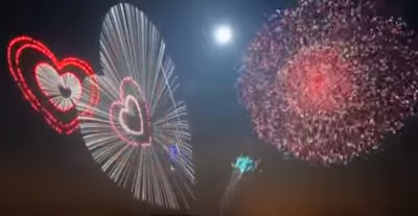 This fireworks show will blow your mind!