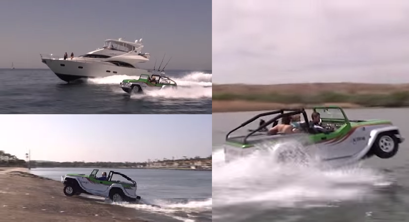 Honda creates the first amphibious car in the world