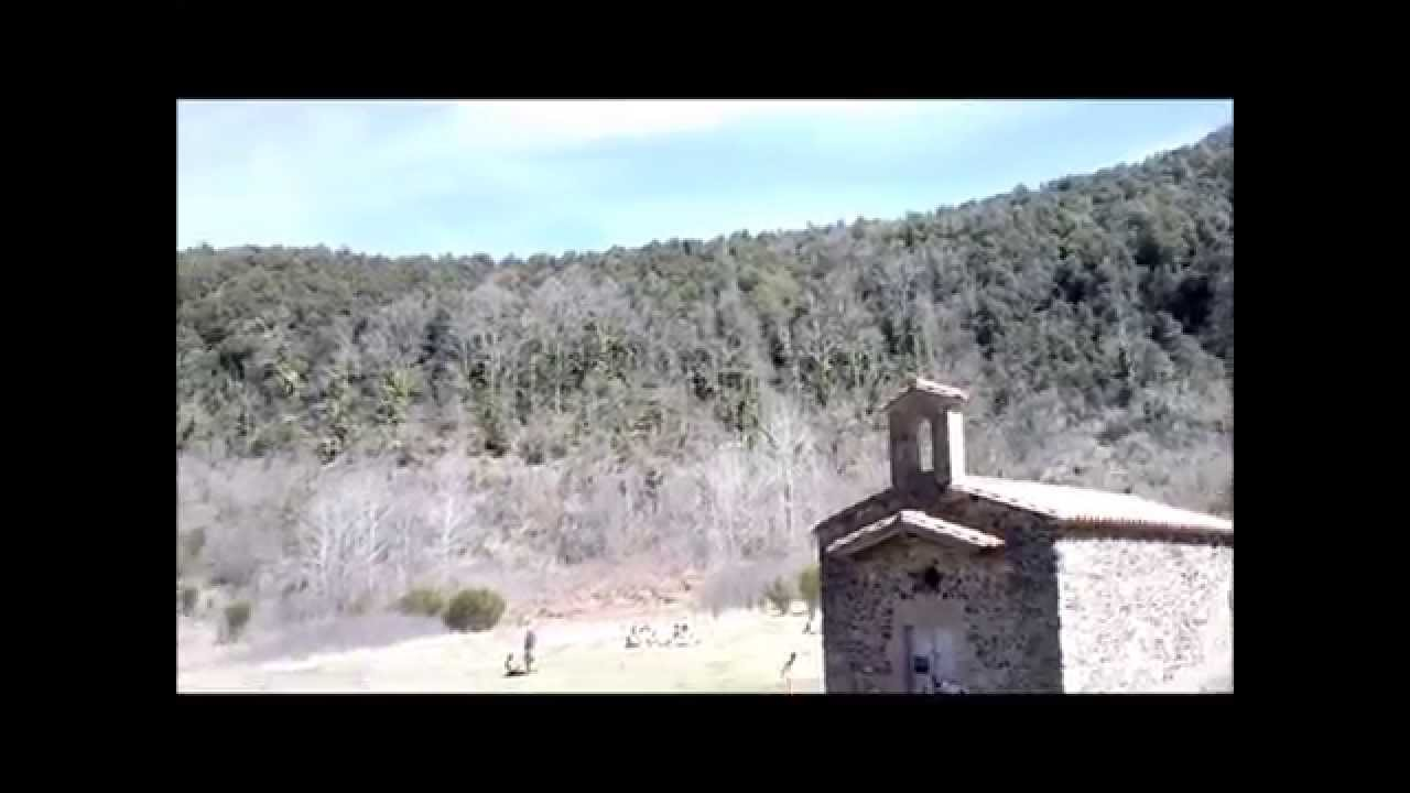 A 'volcanic' church in Catalonia