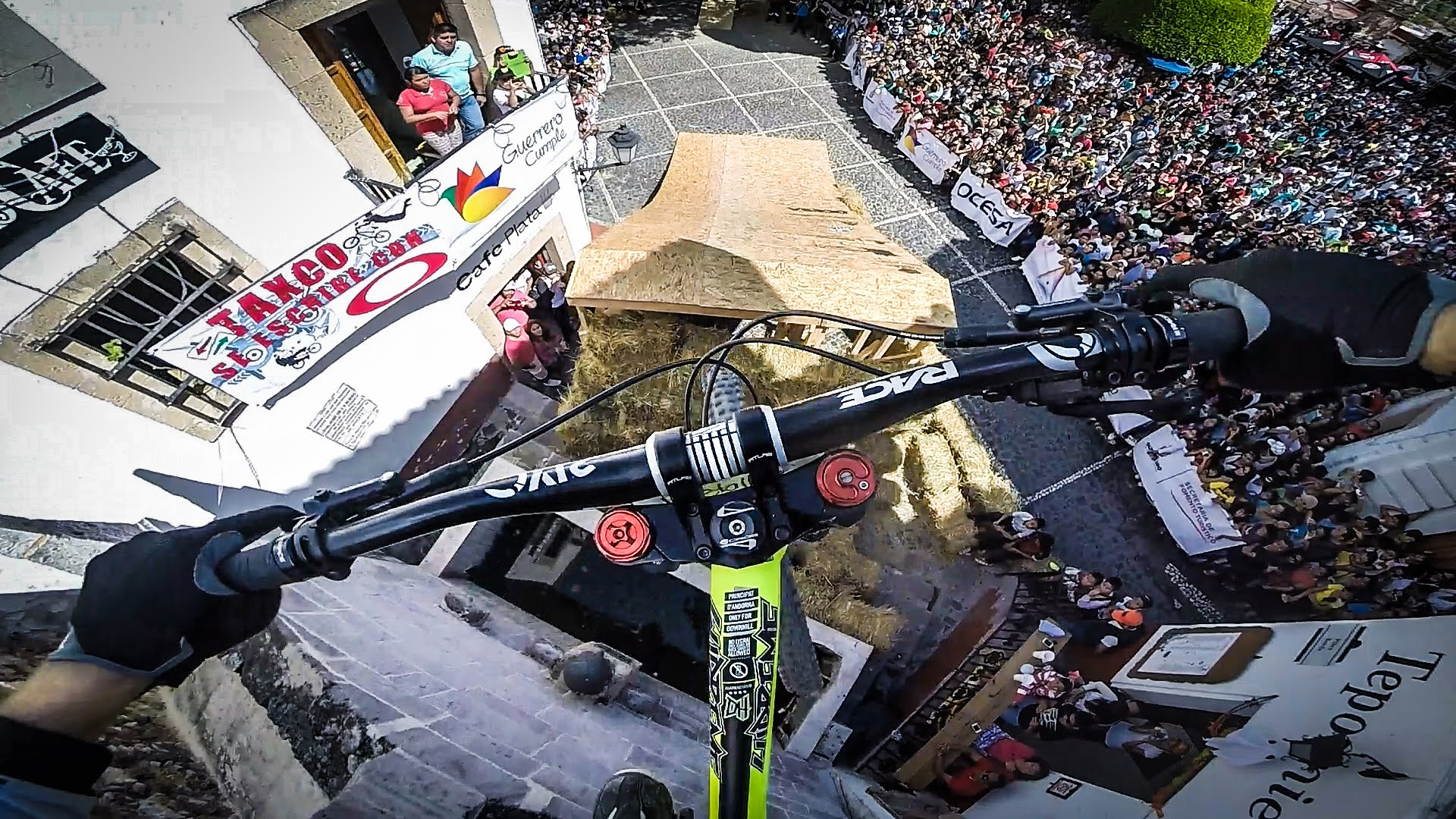 Crazy awesome downhill
