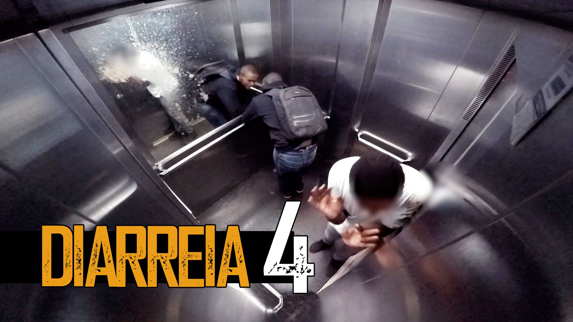 Diarrhea in the elevator