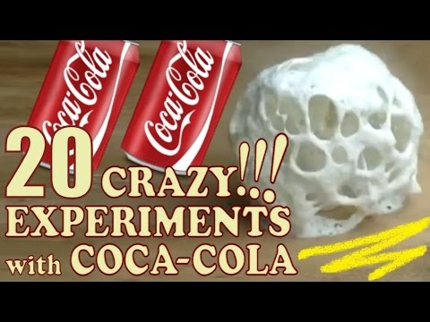 Experiments with Coke!