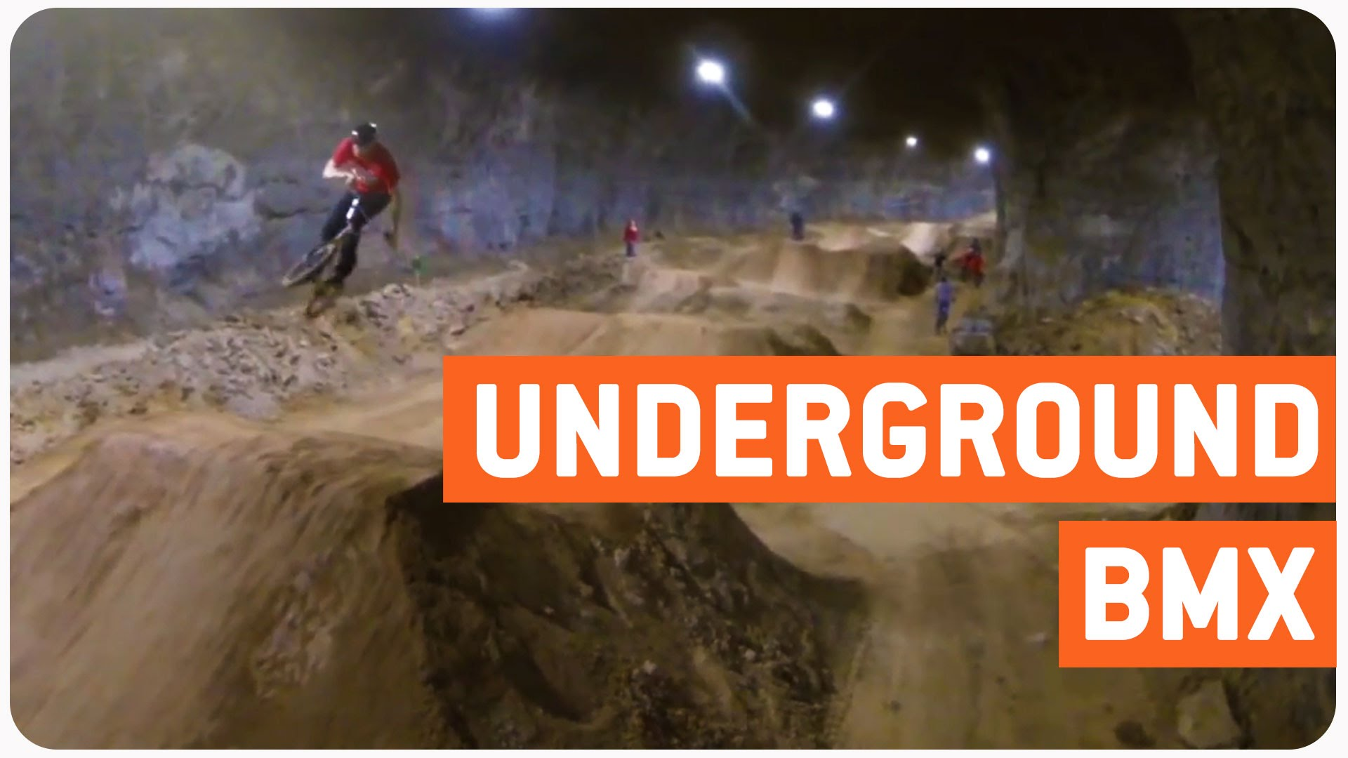 Spectacular Mega-Cavern turned into BMX park