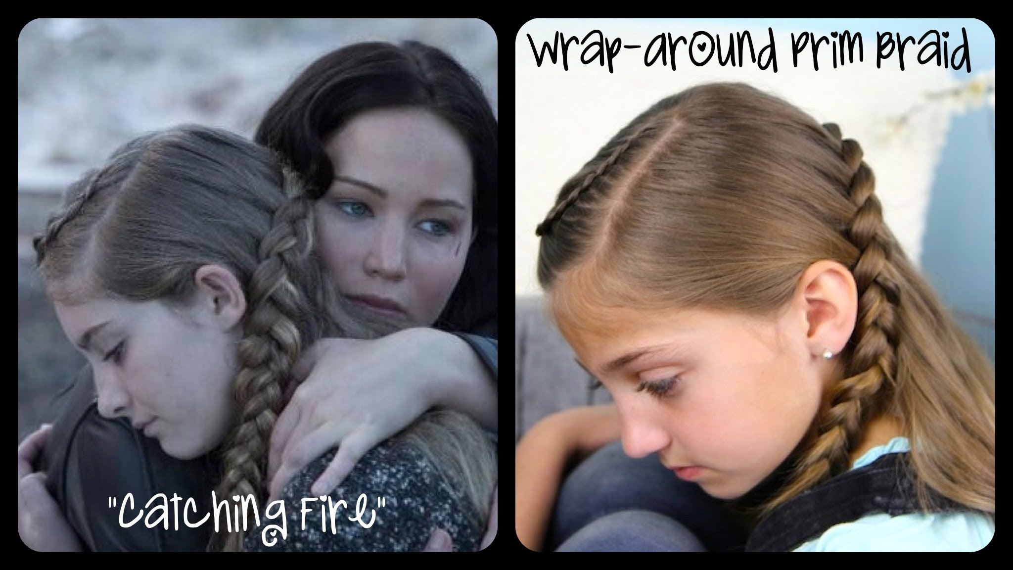 If you are like me and LOVE Hunger Games, here are the Prim's Braids on the films