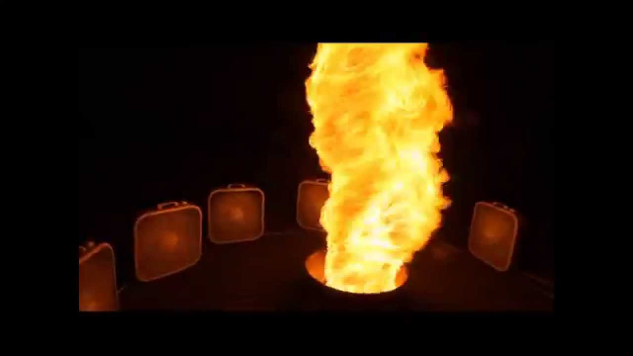 How a fire turns into something magical!