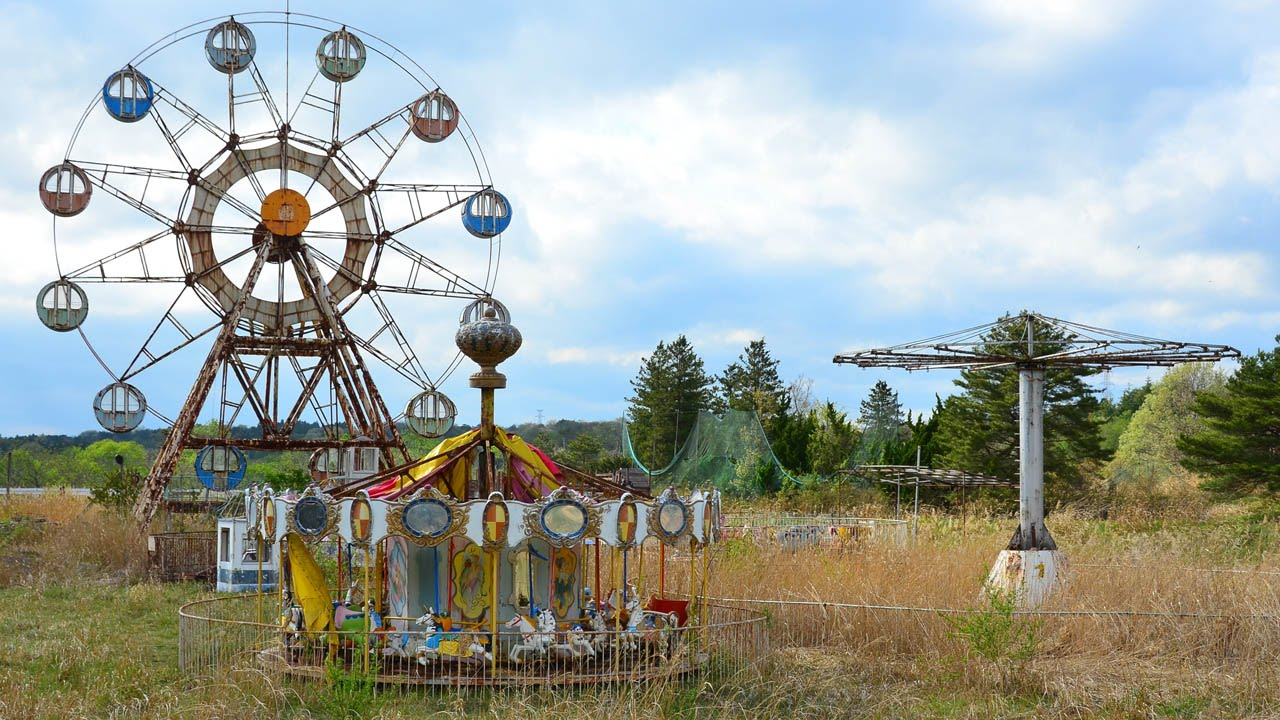Kejonuma Leisure Land, another amusement park decaying