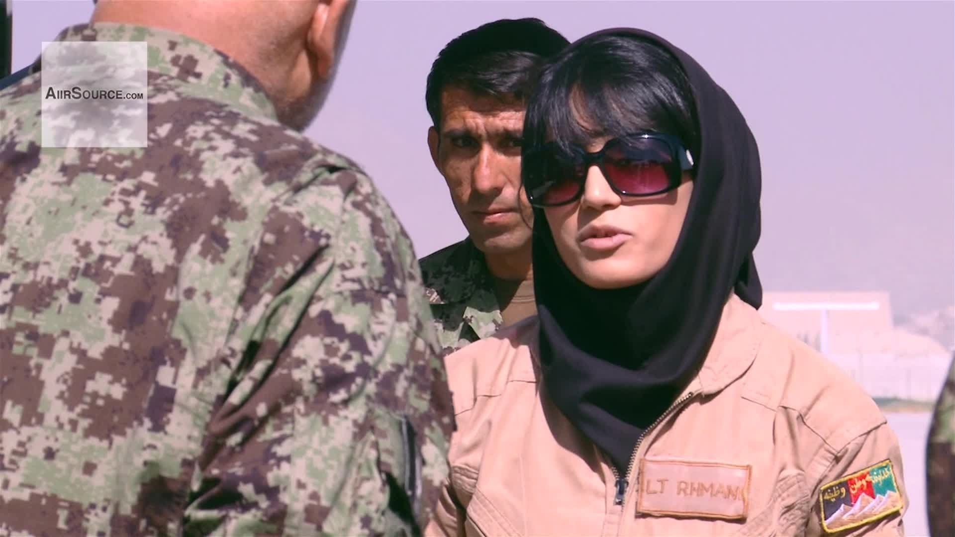 Meet Niloofar, the first woman air fighter pilot of Afghanistan