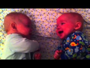 "A ""conversation "" between twins that will delight anyone"