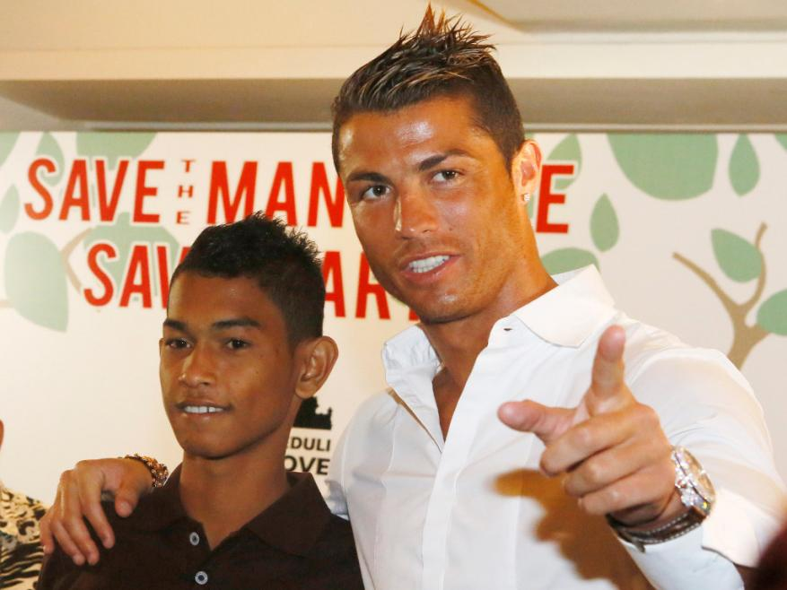 10 years ago Cristiano Ronaldo gave this homeless kid a house. Today he becomes a professional player