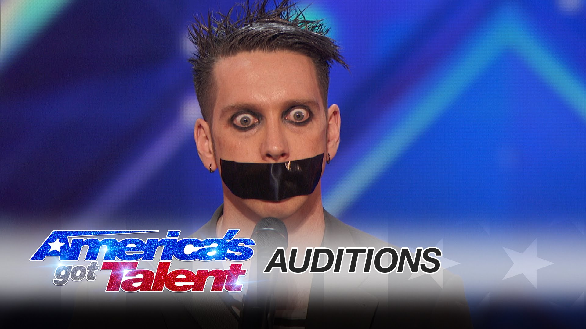 "This guy went to ""America's Got Talent "" and without a word left everyone laughing"