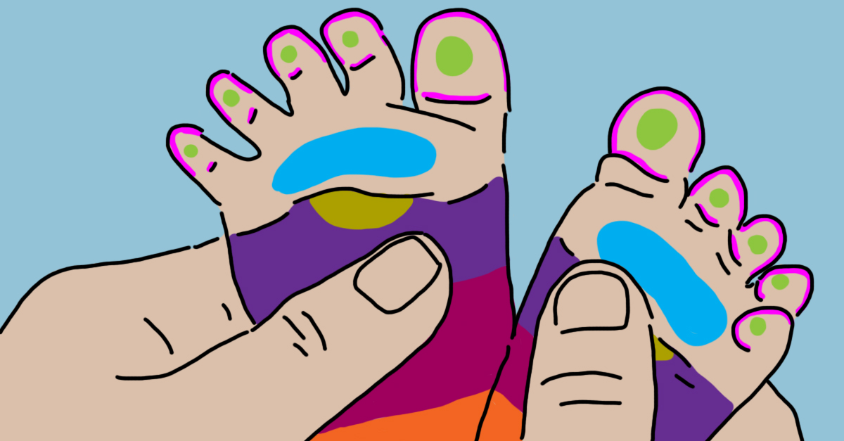 Calm Fussy Babies Instantly By Massaging These 7 Parts Of Their Feet