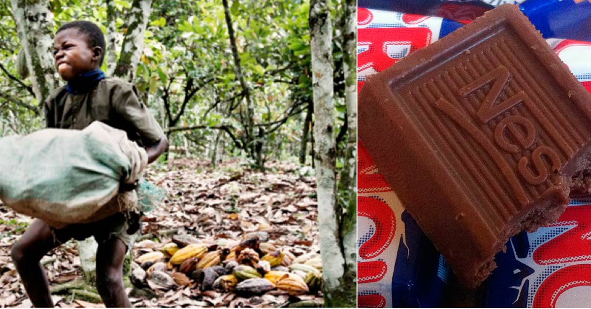 Beware Of These 7 Major Chocolate Brands That Exploit Child Slave Laborers