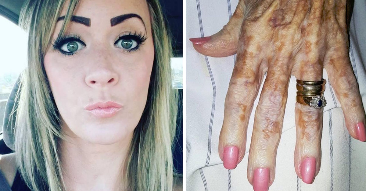 Woman Works In Nursing Home, Snaps Picture Of Resident's Hand That's Going Viral