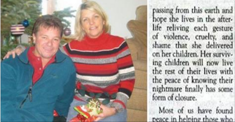 Mom Dies In Hospital, Then Son Writes Obituary Saying He's Glad She's Dead!