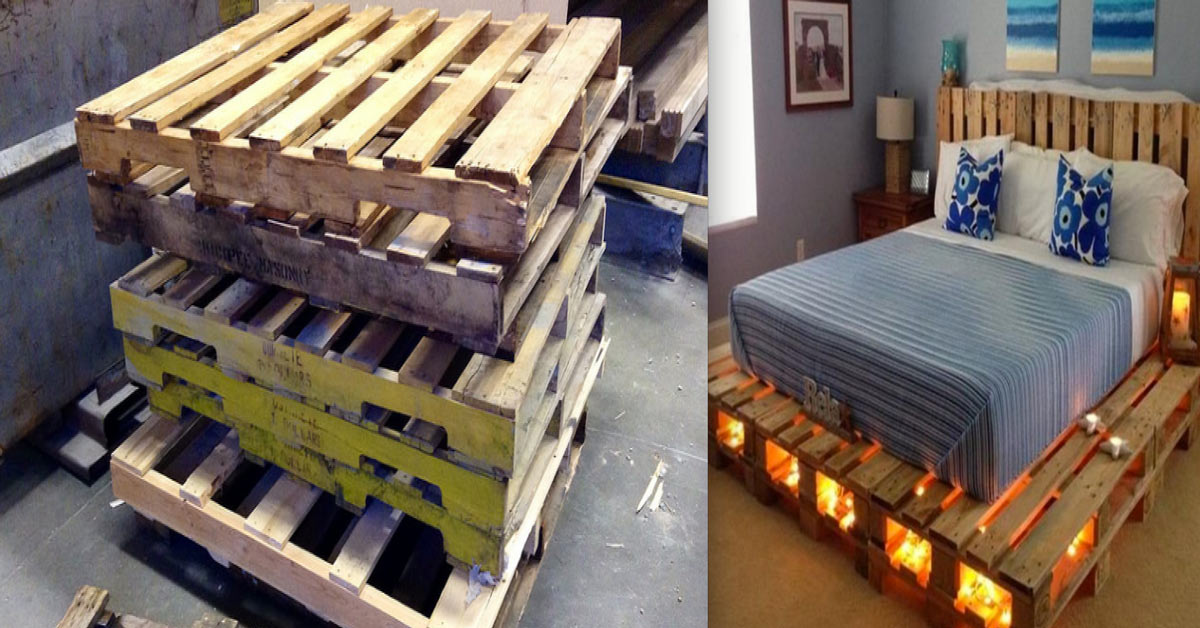 Bring Pallets Into The Bedroom. 8 Creative Designs That Will Inspire You