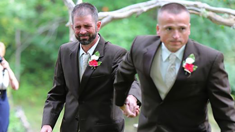 Father Of The Bride Stops Wedding And Grabs Bride's Stepfather, Pulls Him To The Altar In Beautiful Act Of Selflessness