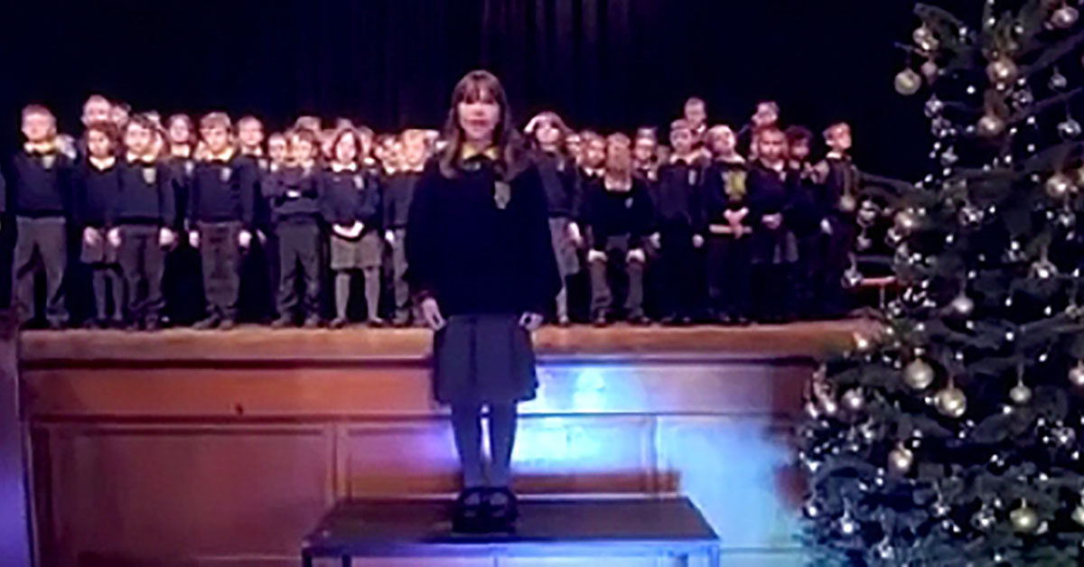 Tiny Girl With Autism Changes Words To 'Hallelujah' – And Puts Entire Audience In Tears